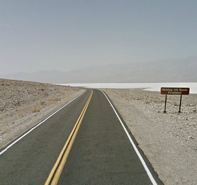 Badwater Road is a wonderful drive to Badwater basin, the lowest point in North America with an elevation of 282 ft (86 m) below sea level.