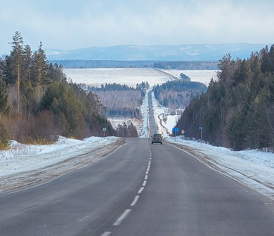 A Trans-Siberian Highway Could Connect New York to London - ANIMAL