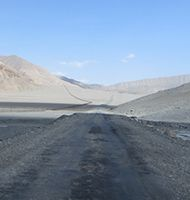Highest roads of Kyrgyzstan