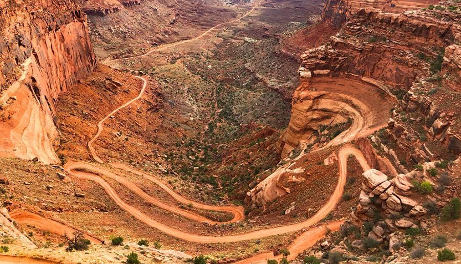 Shafer Trail Road-Shafer Canyon Road