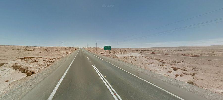 Ruta Nacional 5 is Chile's longest route