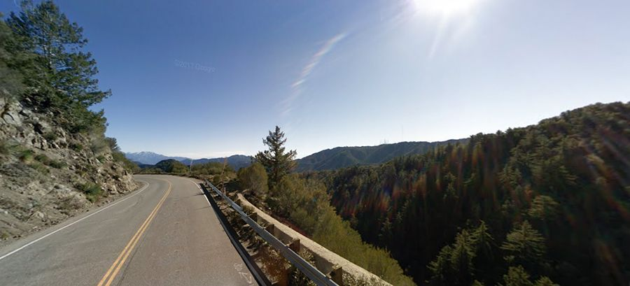 angeles crest highway scenic and well