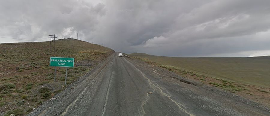 Highest roads of Lesotho