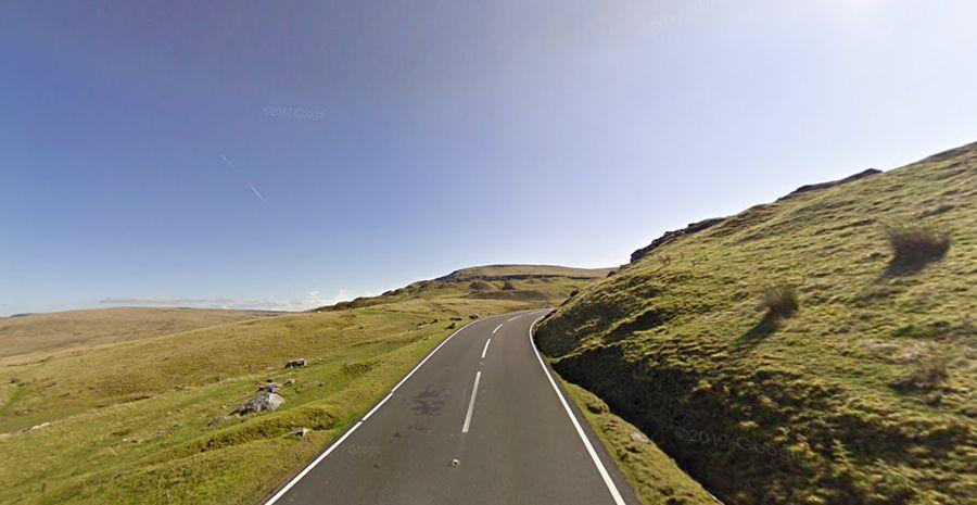 black mountain road a4069