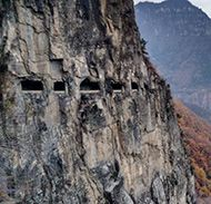 Tunnel roads in China