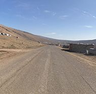Sinjar Mountain road