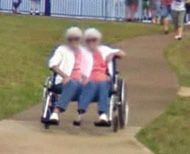 Bizarre distorted images on Google Maps