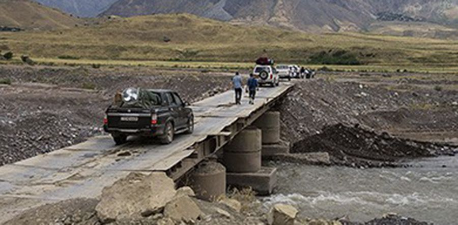 Khudkham River bridge