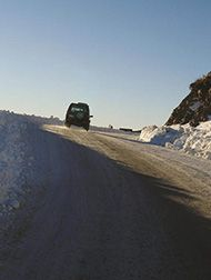 Mount Hutt Access Road