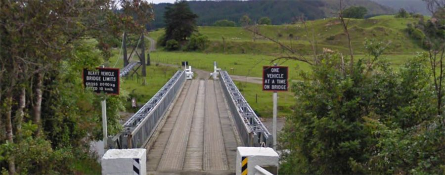 Ohau River bridge