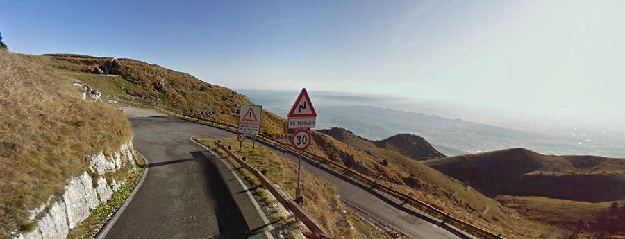 Route to Cima Grappa