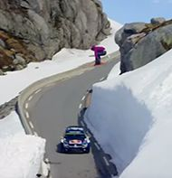 WRC on skis? Watch this rapid mountain descent