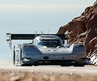 Volkswagen's electric car breaks the all-time record at Pikes Peak