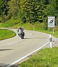 Dangerous Roads for Bikers in the East Midlands