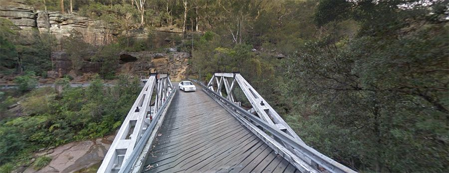 Tunks Creek bridge