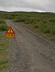 F Roads in Iceland